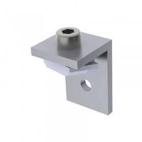 Fixing bracket with screw and nut for Foga Profile 03TX Fabric