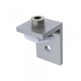 Fixing bracket with screw and nut for Foga Profile 92TX Fabric