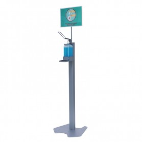 Stand Dispenser For Disinfectant Solutions