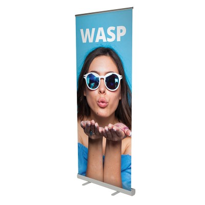 Wasp roll-up banner