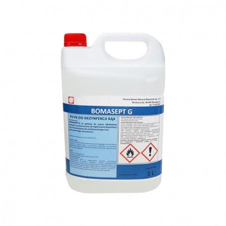 Liquid Disinfectant Bomasept G, 5 Liters