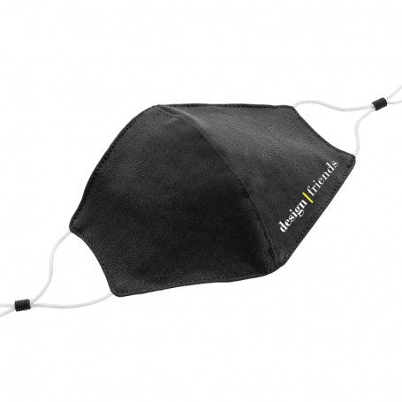 Reusable 2-Layer Cotton Mask, Customizable