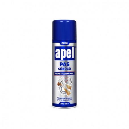 Apel BK10 Spray pentru indepartat rugina, protectie anticoroziva, 200ml