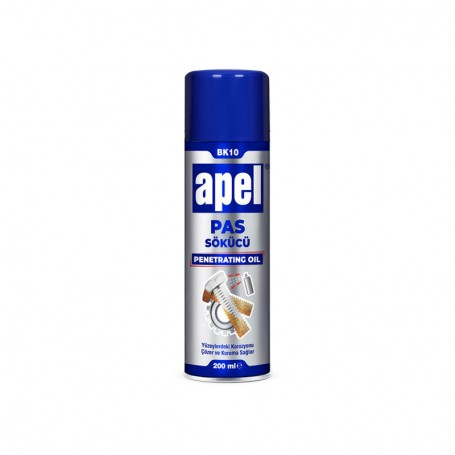 Apel Rust Removal Spray, Corrosion Protection, 200ml