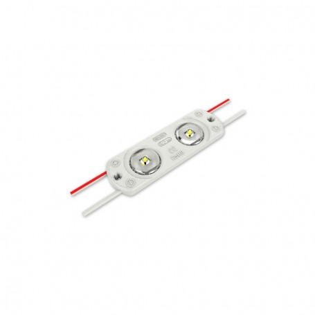 Modul LED cu lumina alba 56 x 17.5 x 6.2mm x 2 leduri