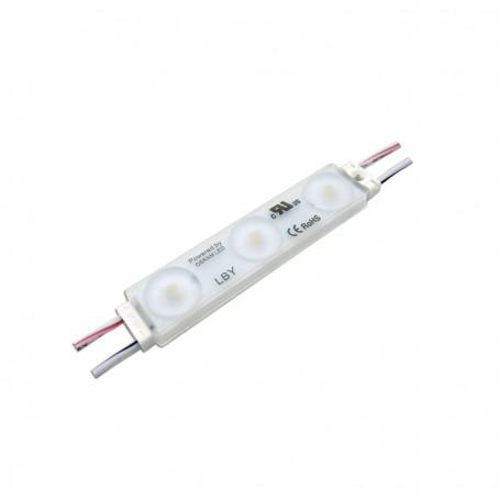 Modul LED cu lumina alba 77.8 x 15.4 x 10.4mm x 3 leduri