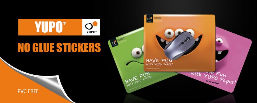 No Glue Stickers YUPO® | DesignFriends