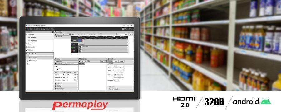 Permaplay Network LCD screens   DesignFriends