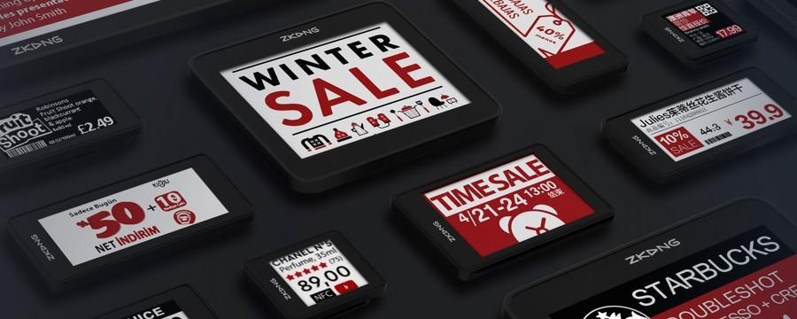 Electronic shelf label   DesignFriends