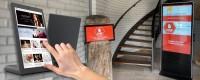 Infodesk touch screen monitors | DesignFriends