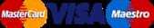 Visa Mastercard Maestro Logo